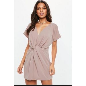 New Missguided maybe knot dress size 2/xs